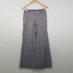 Banana Republic Martin Fit Wide Leg Pants Size 4